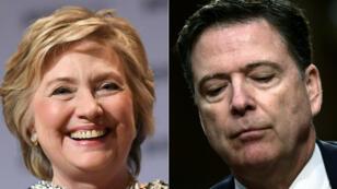 Alors patron du FBI, James Comey avait d'abord recommandé à l'été 2016 de ne pas poursuivre Hillary Clinton dans l'affaire des emails avant de faire volte-face fin octobre 2016.