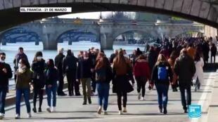 2021-03-23 13:04 Europa y América Latina temen un incremento de casos por Covid-19 durante Semana Santa
