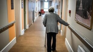 The French government on Thursday said at least 884 people had died at care homes from the coronavirus, its first estimate since the start of the epidemic.