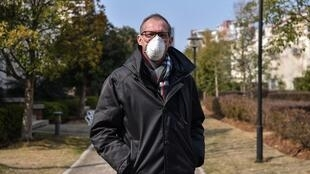 French doctor Philippe Klein in Wuhan, China, January 29, 2020.