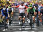 Tour de France: l'Australien Caleb Ewan vainqueur sous la chaleur, Alaphilippe reste jaune