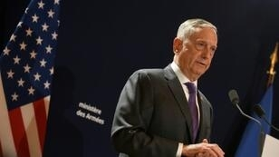 """US Defense Secretary Jim Mattis stressed that American lawmakers had not cut military spending in Europe """"by a single cent"""" in defence spending plans for 2019"""
