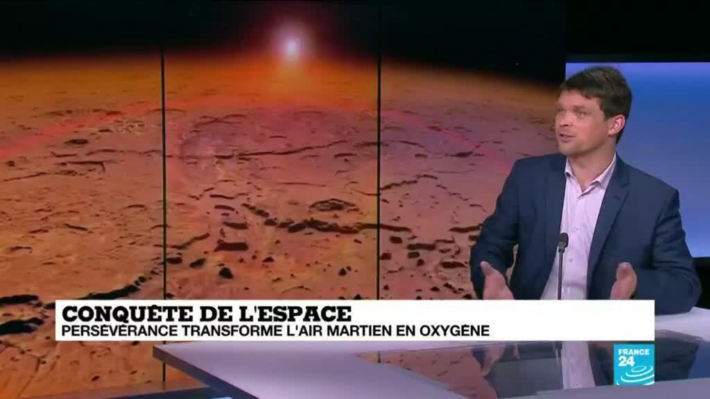 2021-04-22 16:40 Conquête de l'espace : Perserverance transforme l'air martien en oxygène