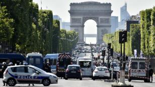 Quelque 12 000 membres des forces de l'ordre seront mobilisés à Paris, ce week-end.
