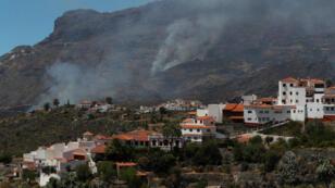 Al menos 1.500 hectáreas de un parque nacional se han visto afectadas por el incendio que se generó en Gran Canaria el 10 de agosto