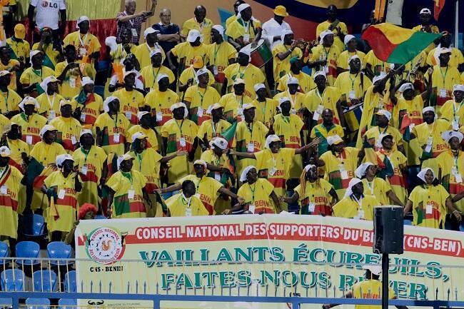 -جمهور منتخب بنين أمام غانا في الإسماعيلية-