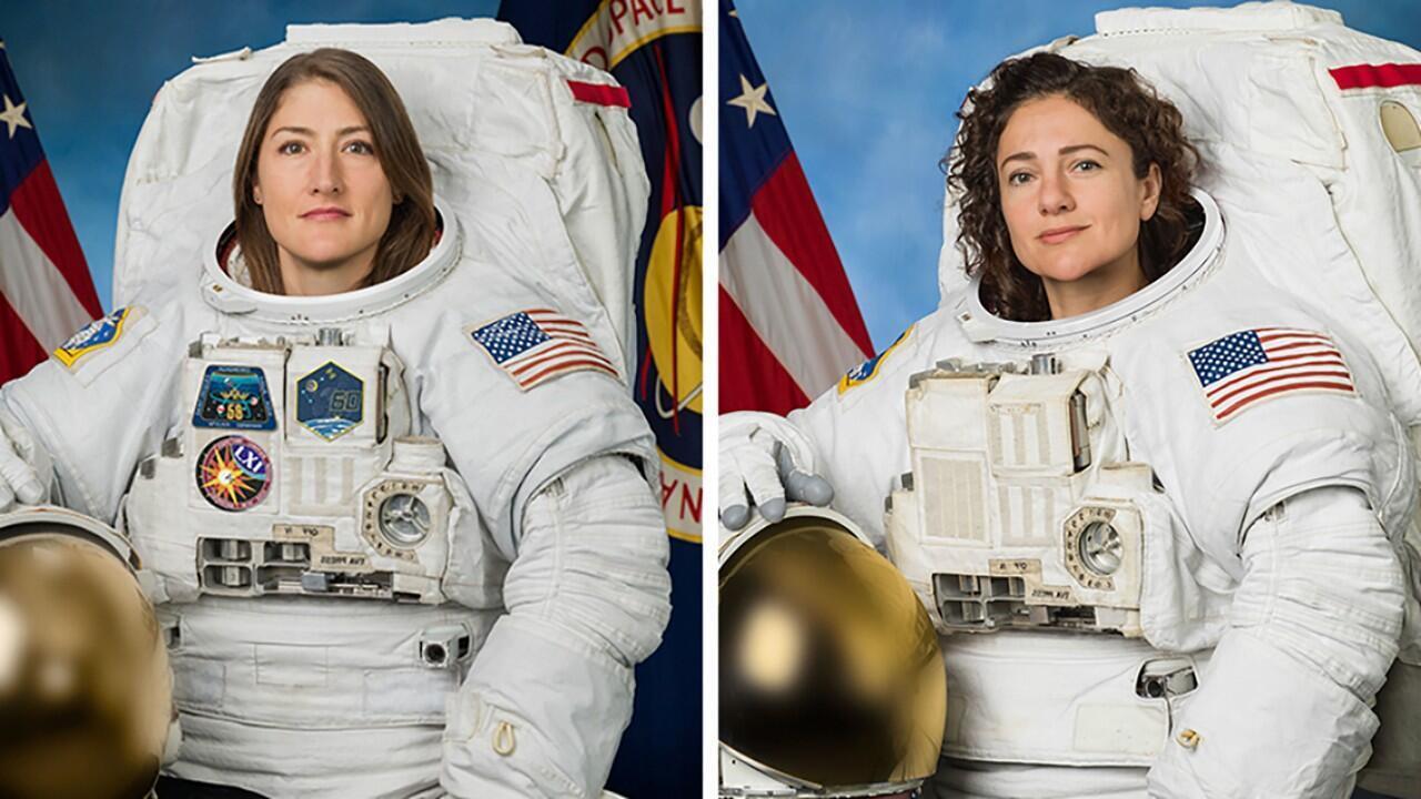Les astronautes américaines Christina Koch et Jessica Meir sont sorties ensemble de la Station spatiale internationale(ISS) pour remplacer un équipement électrique.