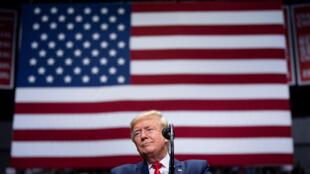 الرئيس الأميركي دونالد ترامب خلال حملة انتخابية في كاروليان الشمالية في 2 آذار/مارس 2020