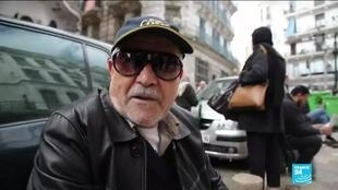 2019-12-24 12:33 Algerians react to the death of army chief General Salah
