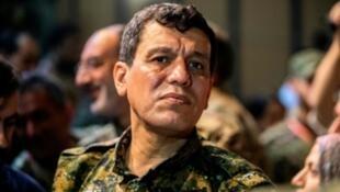 مظلوم عبدي، قائد قوات سوريا الديمقراطية المطلوب من أنقرة