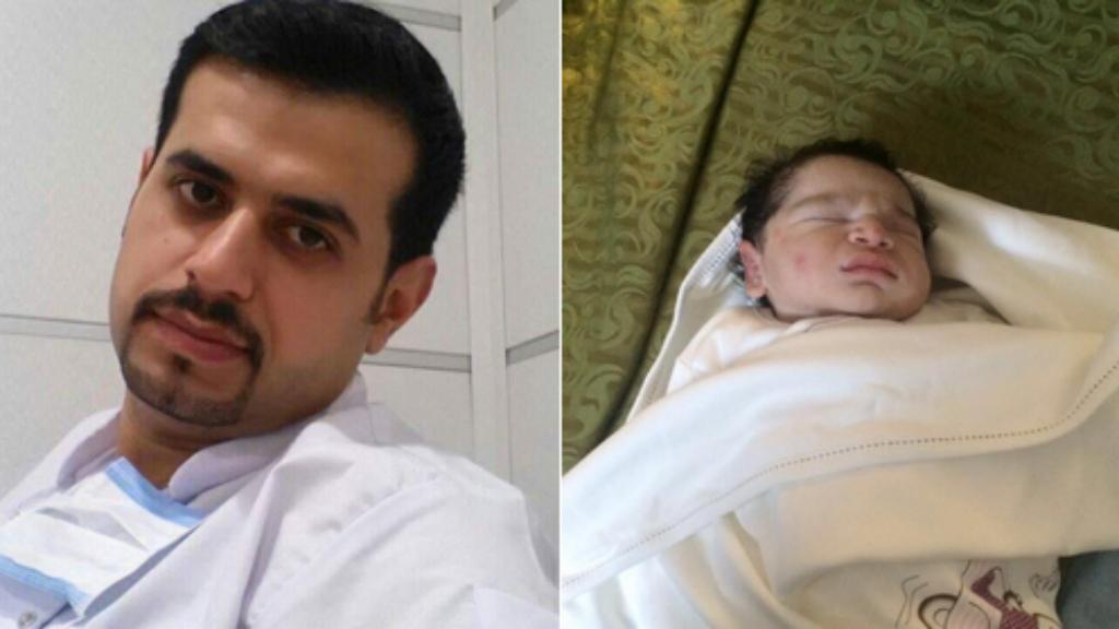 Mohammed Mahdi al- Badry a été tué dans l'attentat du dimanche 3 juillet 2016 à Bagdad, il n'a pas connu son fils, né deux jours plus tard.