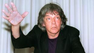 Le philosophe André Glucksmann, le 13 juillet 1995 à Paris.