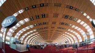 Photo d'archive du Terminal 2E de l'aéroport Roissy Charles-de-Gaulle, au nord de Paris.