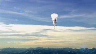 Exemple de ballon du projet Loon