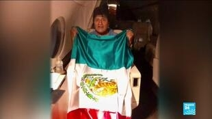 2019-11-12 14:05 Ex-Bolivian President Evo Morales accepts political asylum in Mexico