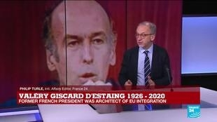 2020-12-03 11:03 Former President Valéry Giscard d'Estaing 'was the incarnation' of a forward-moving France