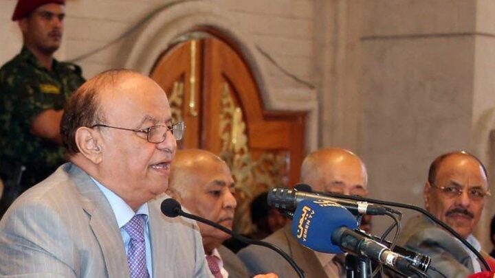 Le président yéménite Abd Rabbo Mansour Hadi.