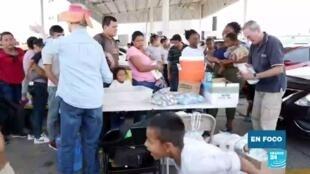 Migrantes a la espera de asilo en EE. UU.