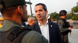 زعيم المعارضة الفنزويلي خوان غوايدو