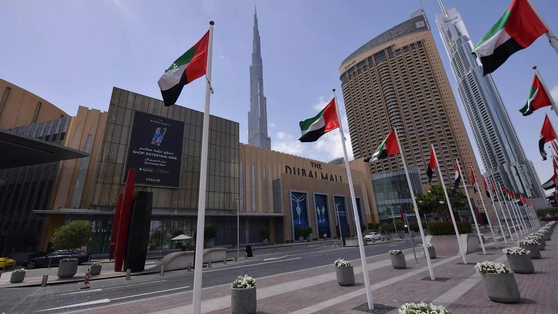 """""""دبي مول"""" بعد قرار السلطات إغلاق المراكز التجارية في 23 من آذار/مارس 2020 في دبي جوسيبي كاكاتشي"""