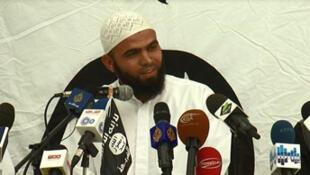 Seif Eddine Raies, porte-parole d'Ansar al-Charia le 16 mai.