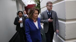 La présidente démocrate de la Chambre des représentants, Nancy Pelosi, le 26 février 2019 à Washington.