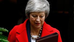 رئيسة الوزراء البريطانية تيريزا ماي خلال كلمتها أمام البرلمان الثلاثاء 4 ديسمبر