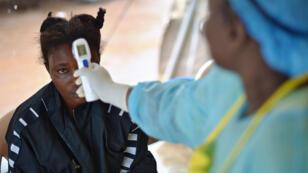 Une malade d'Ebola en Sierra Leone