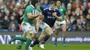 On the move: Ireland flanker Sean O'Brien (L) is to leave Leinster for London Irish after the end of the season