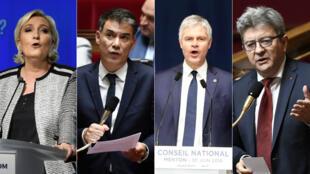 Marine Le Pen, Olivier Faure, Laurent Wauquiez, Jean-Luc Mélenchon: les leaders politiques font leur rentrée en cette fin d'été.