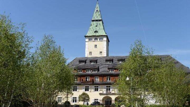 قصر الماو في ألمانيا الذي يستضيف قمة مجموعة السبع