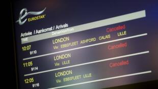Le personnel de bord de l'Eurostar dénonce le non-respect d'un accord sur les conditions de travail.