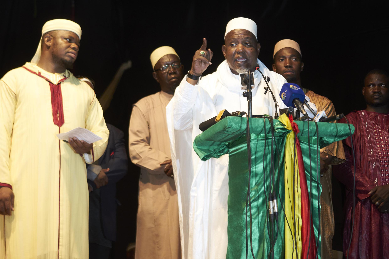 Mahmoud Dicko IBK imam Mali