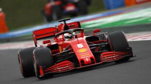 Ferrari's Sebastian Vettel had a more encouraging day in qualifying for the Hungarian Grand Prix