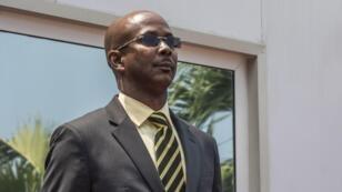 Jean-Michel Lapin le 21 mars 2019 à Port-au-Prince.