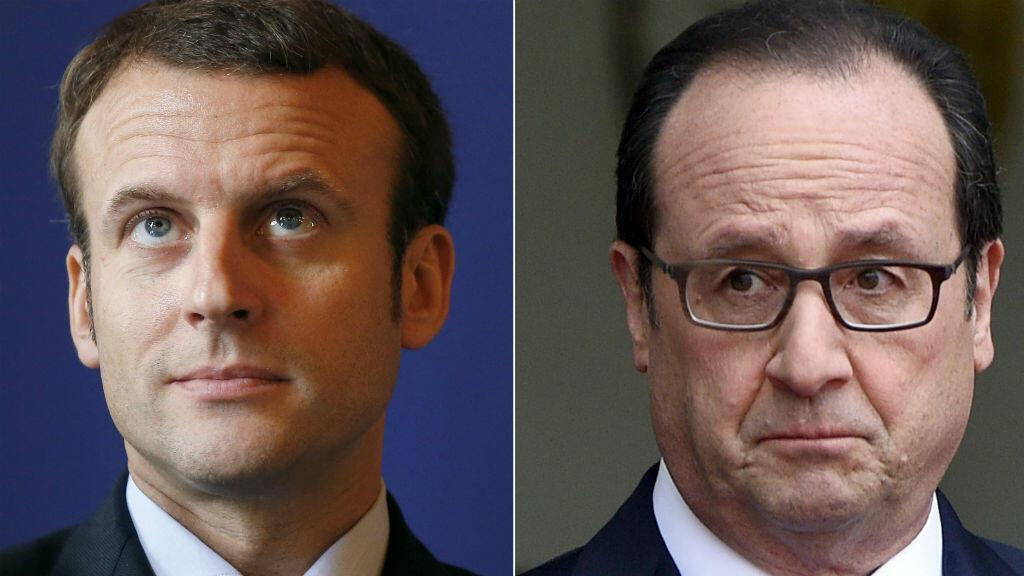 François Hollande met en garde Emmanuel Macron contre une démarche personnelle incompatible avec sa place au gouvernement.