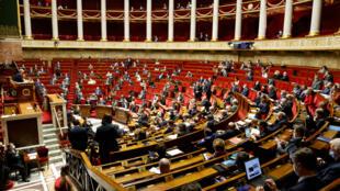 Une séance de questions au gouvernement à l'Assemblée nationale, à Paris, le 9 février 2021. (Photo d'illustration)