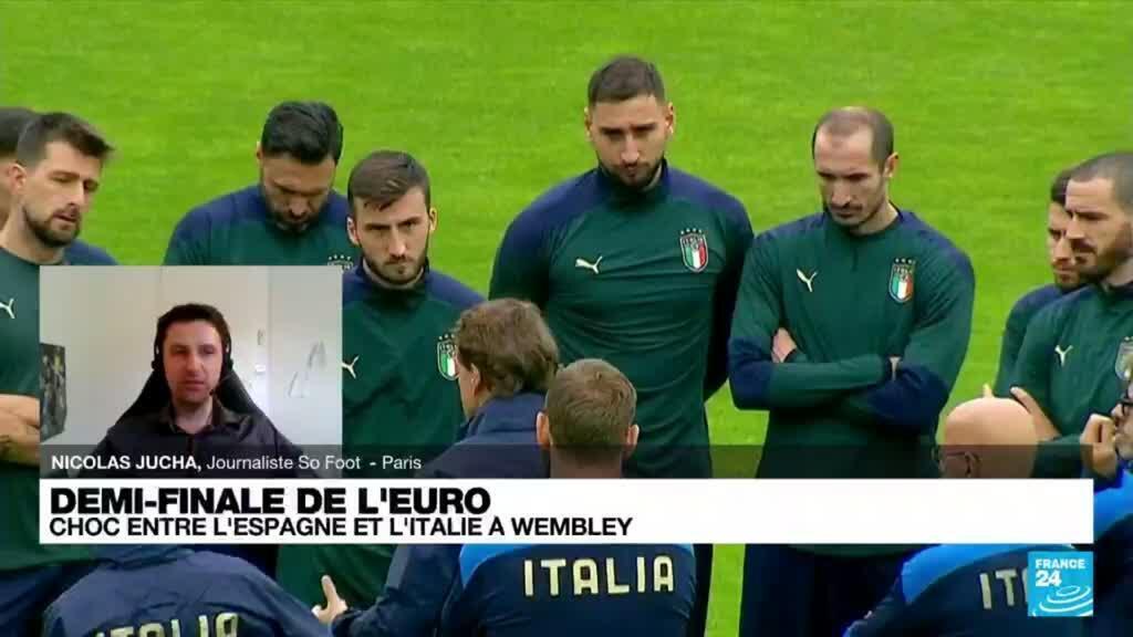2021-07-06 20:10 Demi-finale de l'Euro-2021 : choc entre l'Espagne et l'Italie à Wembley