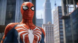 """""""Spider-Man"""", le jeu vidéo sur PS4 en 2018."""