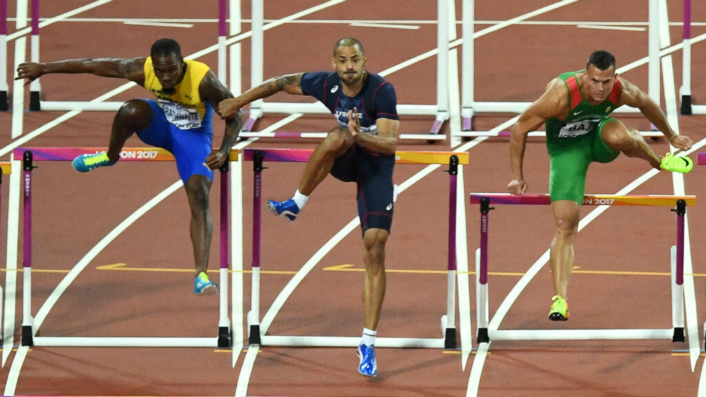 Aux championnats du monde d'athlétisme, Garfield Darienont qui avait pris date pour une médaille a fini au pied du podium.