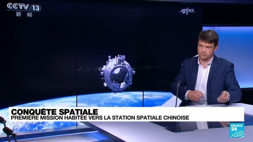 2021-06-17 12:11 Conquête spatiale : quels objectifs pour la mission habitée vers la station spatiale chinoise ?
