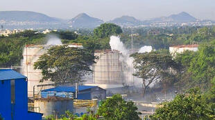 A gas leak at the LG Polymers plant killed 12 people and knocked others unconscious in the street