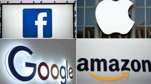 """La taxe """"Gafa"""" s'applique aux géants du numérique tels que Facebook, Apple, Google et Amazon."""