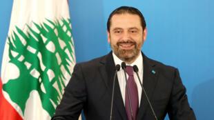 Le Premier ministre libanais, Saad Hariri, le 7 mai 2018, à Beyrouth.