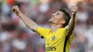 Thomas Meunier, sauveur improbable d'un PSG en difficultés à Dijon.
