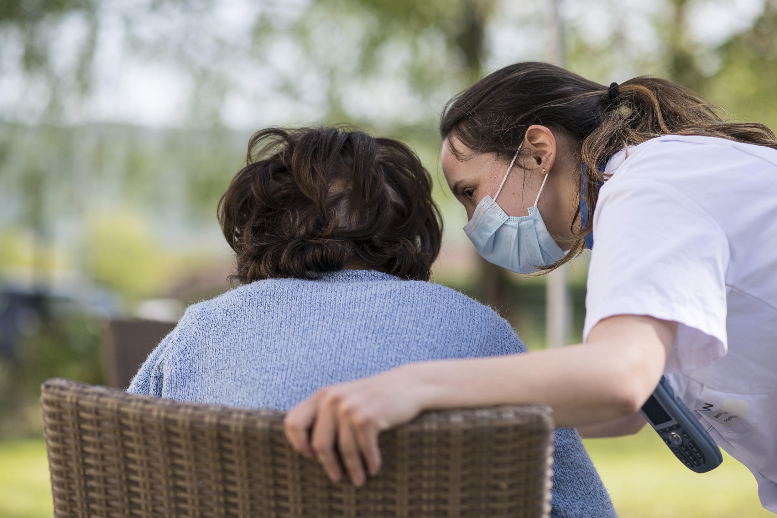France's care homes for the elderly account for more than a third of all Covid-19 fatalities.