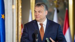 Le Premier ministre hongrois Viktor Orban, le 19 juin 2017, à Varsovie, en Pologne.