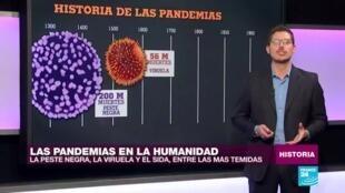 pandemias historia