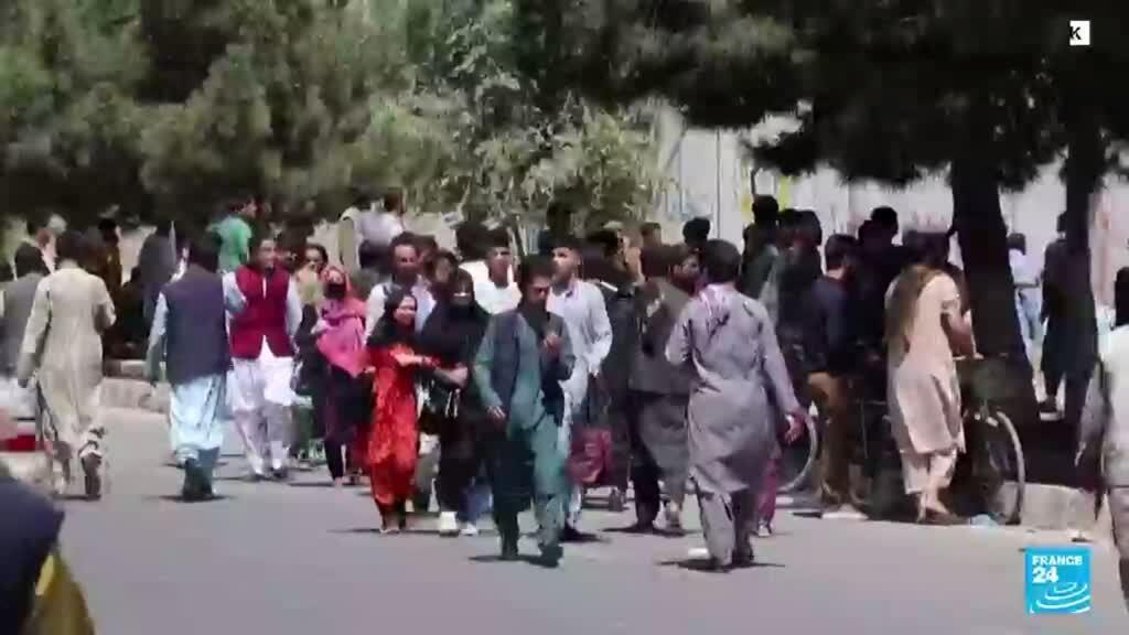 2021-09-15 19:01 Talibanes en Afganistán enfrentan crisis económica y humanitaria a un mes en el poder