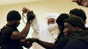 Hissène Habré a été condamné à la prison à vie pour crimes contre l'humanité.